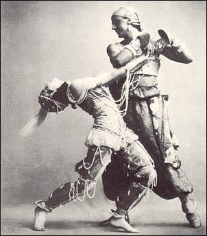 página web ruso bailando