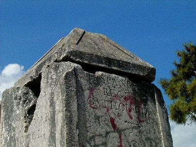 Marco de los Reyes en la Plaza de la Torre del Vigía - Maldonado