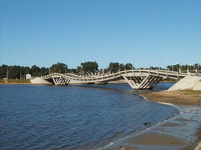 Puentes de La Barra sobre el Arroyo Maldonado - La Barra