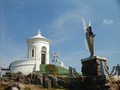 Templo sobre el Cerro Inglés en Piriápolis - Piriápolis