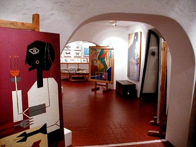 Galería de Casapueblo - Punta Ballena