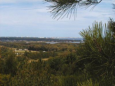 Vista desde Las Cumbres - Punta Ballena