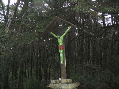 Imagen de Cristo en Parque Llao Llao - Bariloche