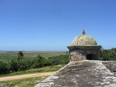 Garita en la Fortaleza de Santa Teresa - Punta del Diablo