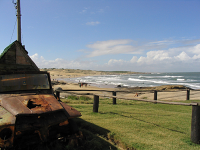 Playa en Punta del Diablo - Punta del Diablo