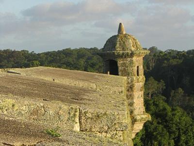 Garita de la Fortaleza de Santa Teresa - Punta del Diablo