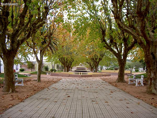 Plaza de Aiguá.