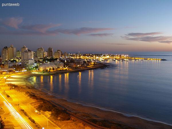 Playa Mansa, Punta del Este, Maldonado, Uruguay. Foto de Daniel Ferraro.