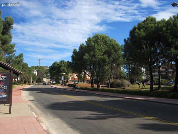 Av. Italia en la parada cuatro cerca de la Plaza M�xico.
