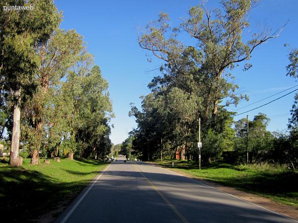 Comienzo del Camino Egusquiza en la localidad de La Barra. El Camino Egusquiza une la localidad de La Barra con la ciudad de San Carlos.