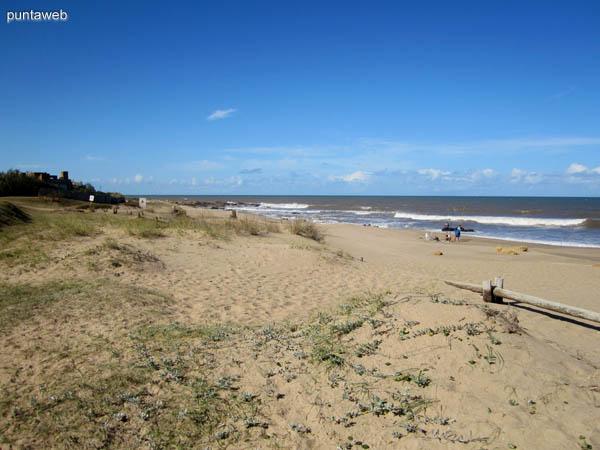 Playa de Punta Piedras.