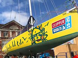 Uruguay regresa al escenario mundial del yatching con el barco Punta del Este en la Clipper 2019-20 Race