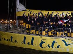 Clipper Race: Héroes locales, el velero Punta del Este bienvenido en su puerto