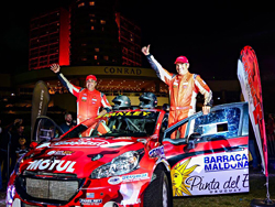 Rodrigo Zeballos y Sebastián Dotta debutan en la máxima categoría del Sudamericano de Rally