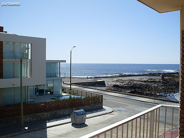 Rambla de Circunvalación on the Atlantic coast.
