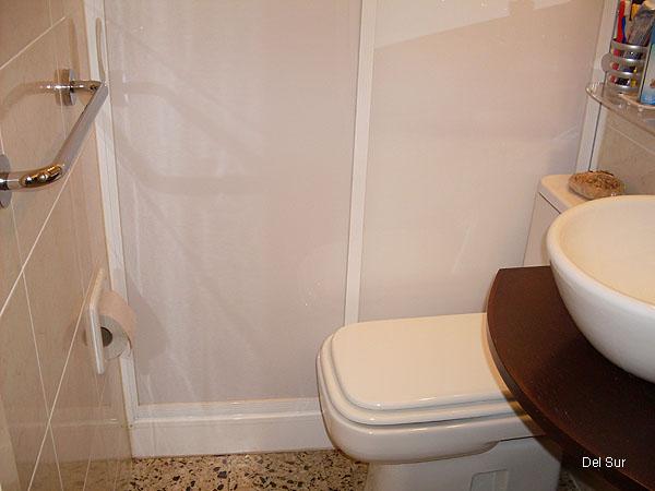 Estática del segundo baño,cuenta con bacha circular, ducha y WC.<br>Puede cumplir la función de baño social.