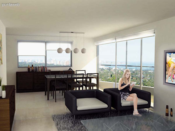 Stradivarius proyecta 21 pisos de apartamentos que se caracterizan por la excepcional vista panor�mica que los rodea, dentro de los cuales se integran espacios amplios, modernos y luminosos.