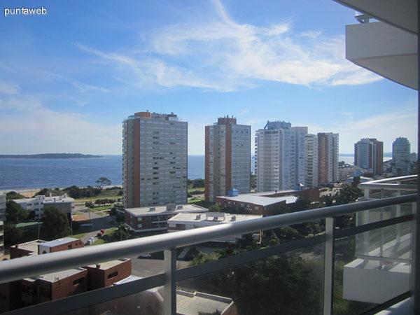 Vista hacia el sur a la altura del piso 10.