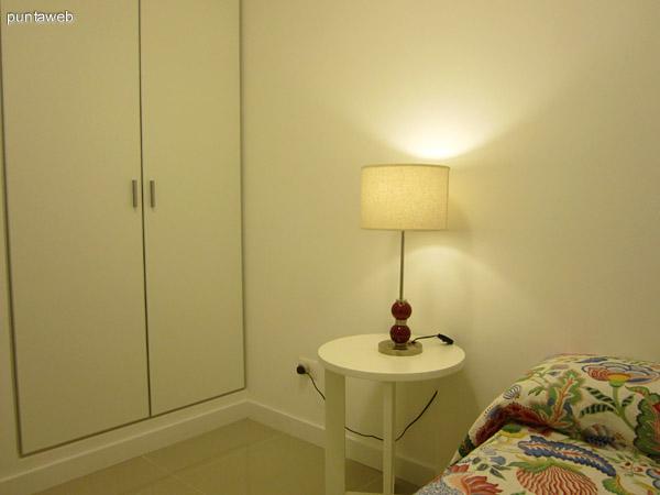 Tercer dormitorio. Se encuentra a la izquierda del pasillo de acceso a los dormitorios y cocina, frente a ésta. Está acondicionado con cama marinera.