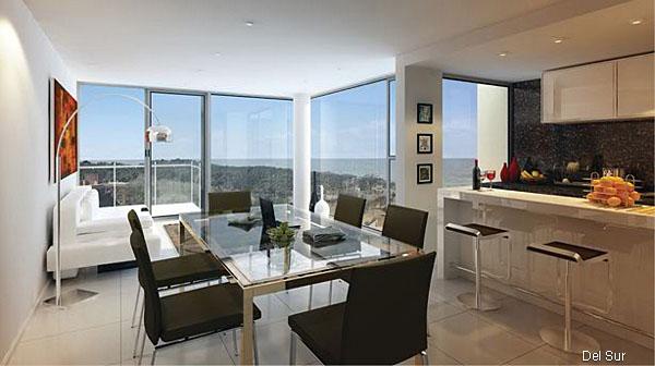 Suite con acceso a terraza y vistas exteriores.