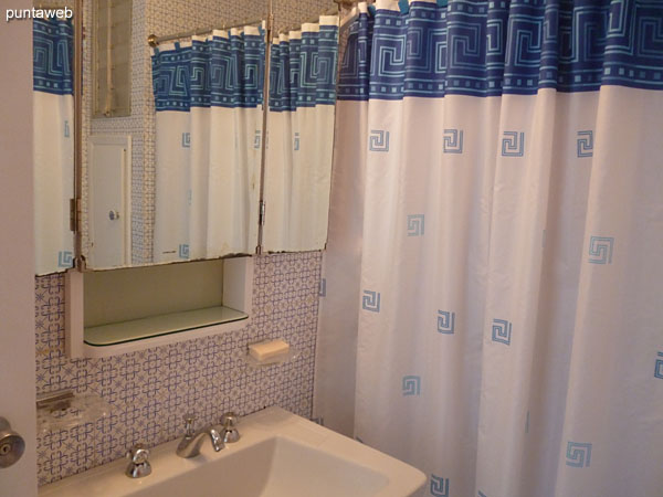 Second bathroom interior. In time and in good condition.