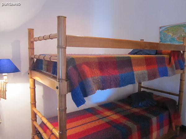 Second bedroom located on the building of the apartment. <br><br>Conditioning with bunk bed with trundle bed.