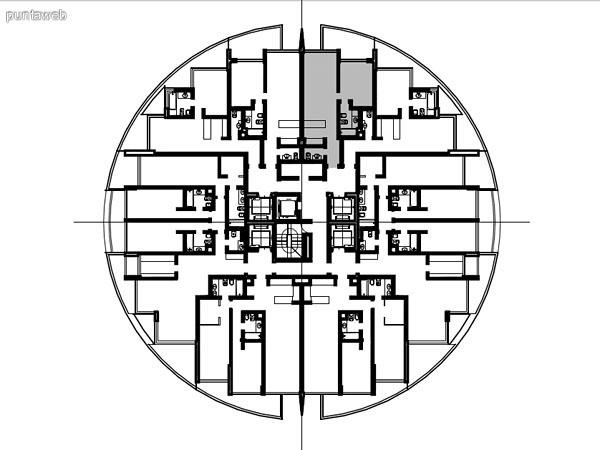 Apartamentos de tipolog�a 04 – 204 – 2204<br>1 dormitorio<br>Metros propios – 52.00 m�<br>Terrazas – 16.90 m�<br>Circulaciones – 4.51 m�<br>Metros totales 73.41 m�