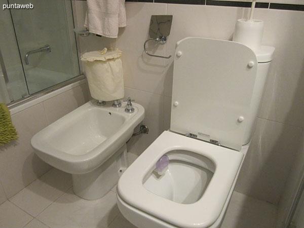 Detalle de la bañera en el segundo baño.