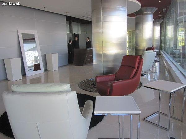 Environments to be in the lobby of the building.