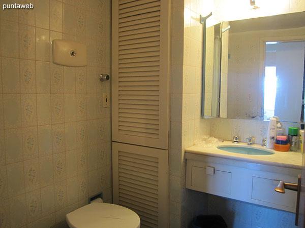 Baño del dormitorio principal.