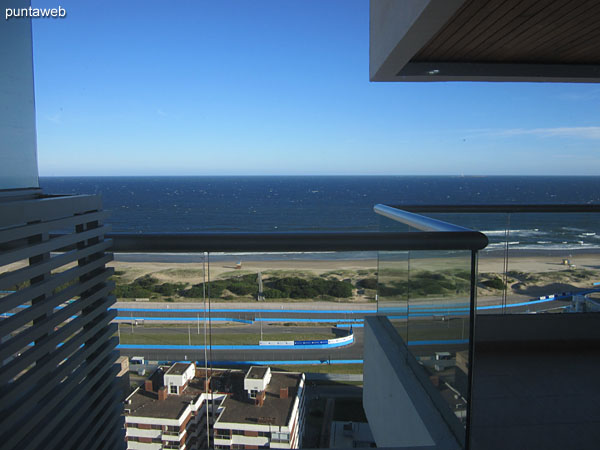View to the beach Brava from the master suite.