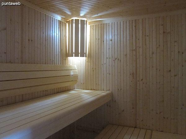 Servicios higiénicos en el sector de Spa.