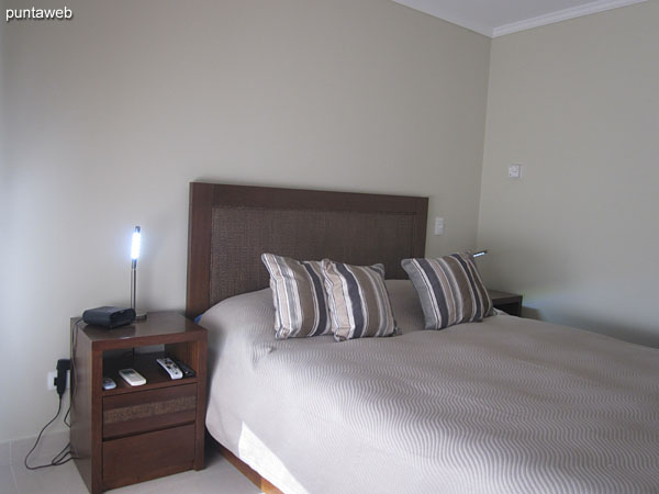 Suite room. Located towards the quiet part of the building and north side of the building. Equipped with a double bed.