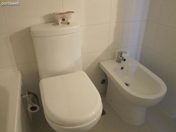 Baño. Detalle de la bañera.