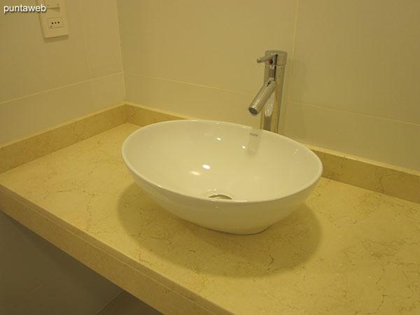 Ducha turca en el sector de spa.