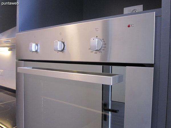 Horno microondas y horno el�ctrico.