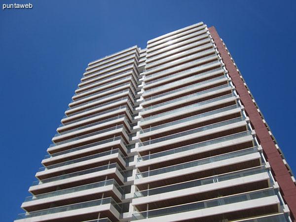 South facade of the building.
