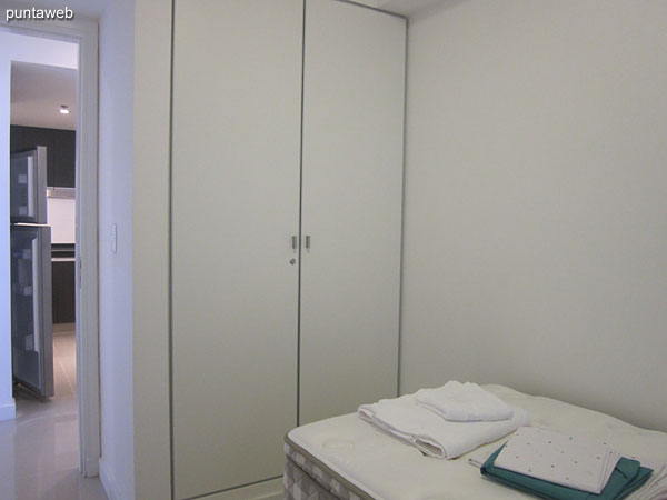 Third bedroom. Equipped with individual bed.