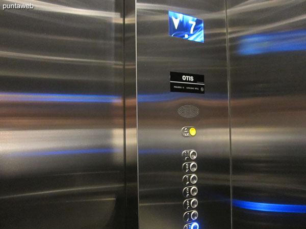 New elevators.