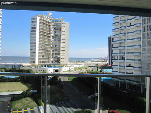 View to Brava beach from the living room.