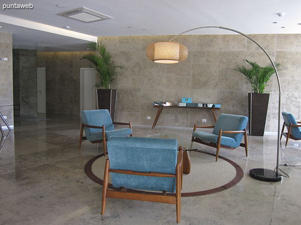 Lobby del edificio.