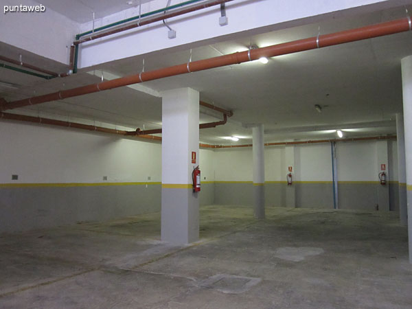 Detalle del garage.