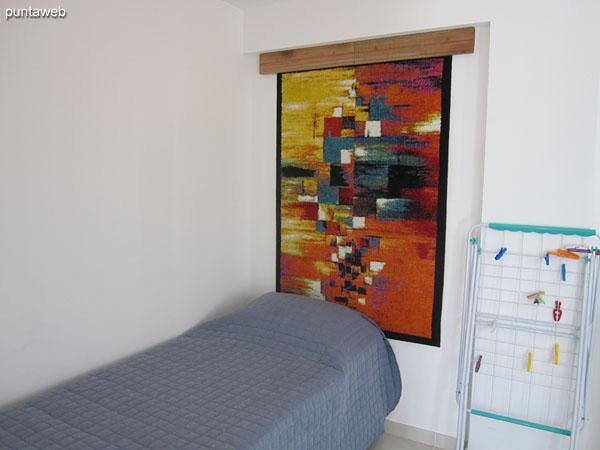 Dormitorio de servicio.