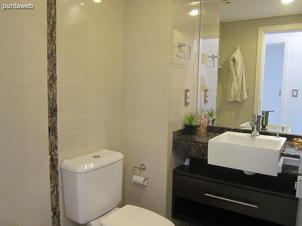 Ba�o de la tercera suite. Interior, equipado con ducha y mampara de ba�o.