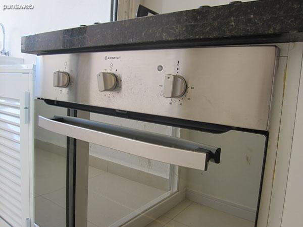 Built–in oven