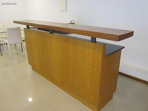 Equipment for multipurpose room services.