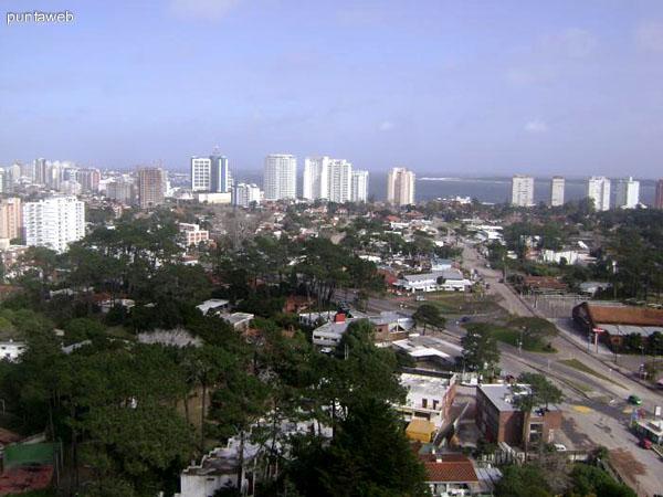 Vistas desde la altura del entorno donde se ubica Gala Vista.