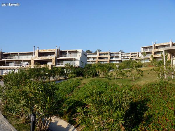 Fachada de Quartier Punta Ballena.