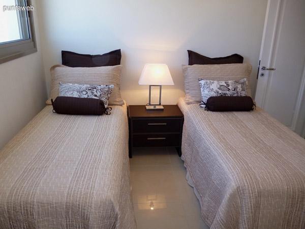 Cuarto dormitorio en suite.