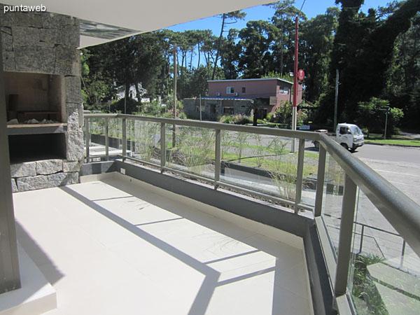 Balc�n terraza.